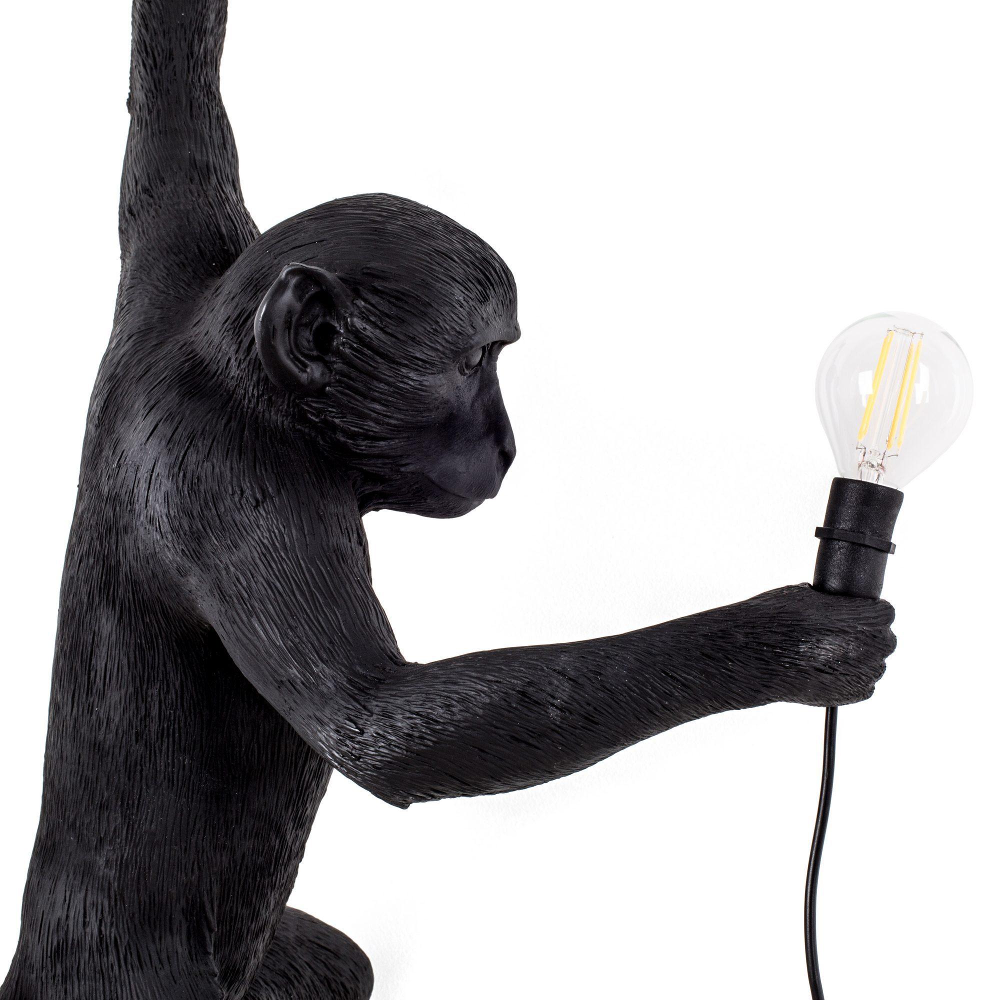 Monkey Lamp Black applique murale Seletti