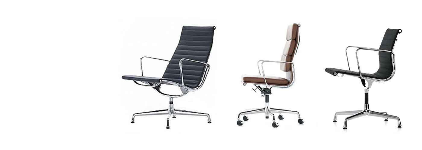 Eames chaises de bureau