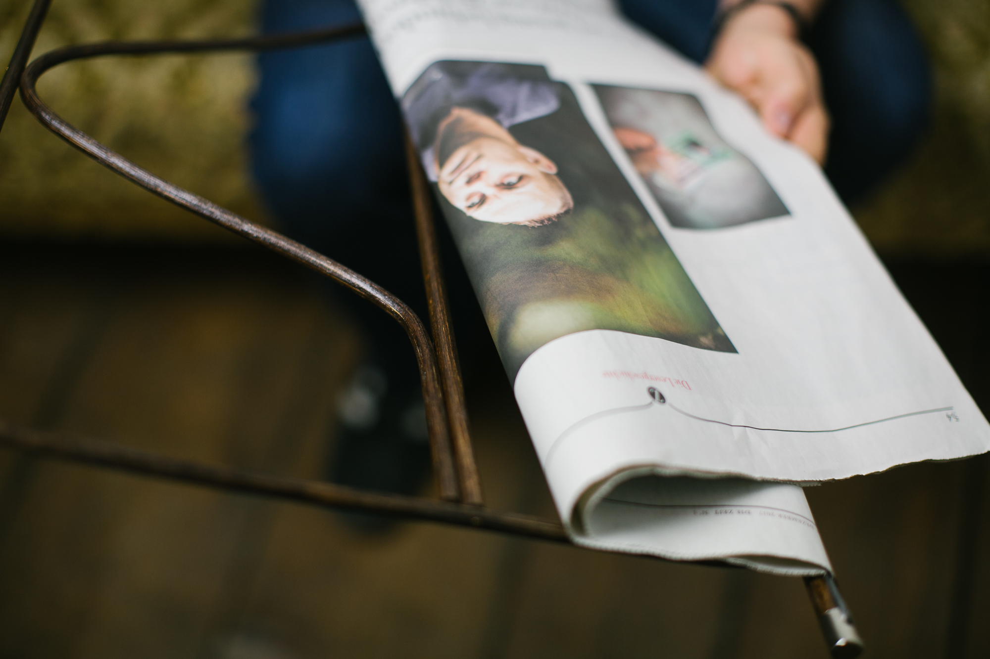 Wiener Porte-journaux Thomas Poganitsch Nature 60 cm