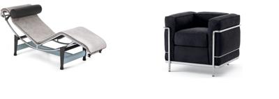 Sièges de style Bauhaus