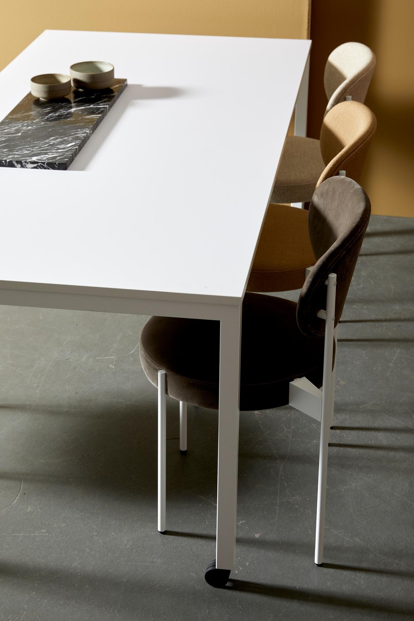 Panton Move Table Blanc Verpan