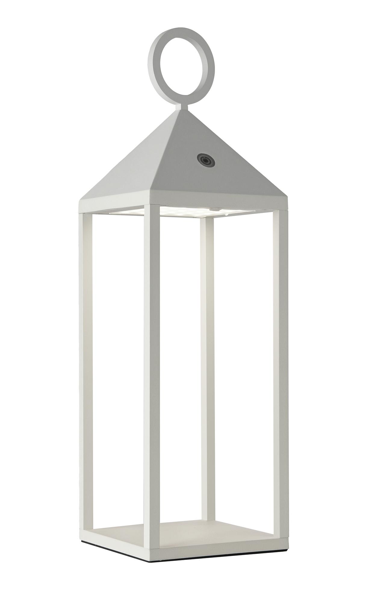 CargoLED batterie extérieure Lanterne 47cm blanc Sompex