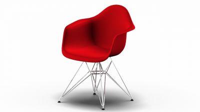Eames Plastic Arm Chair DAR chaise Vitra Couleurs arrivant à échéance