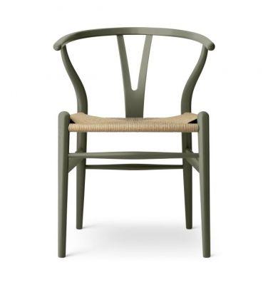 CH24 Wishbone Chair Chaise Seaweed Carl Hansen & Søn - LIMITED EDITION