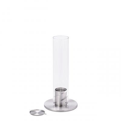 Spin 90 Lanterne/Feu de table argent höfats