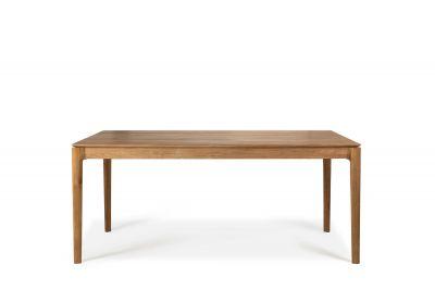 Teak Bok Table Extensible Largeur 180 Ethnicraft