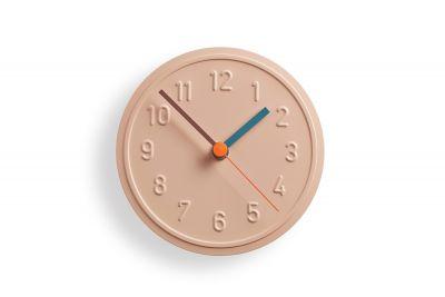 Alu Alu Horloge MuralePêche PastelRichard Lampert