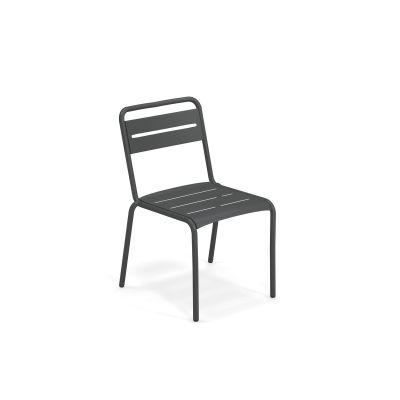 Étoile Chair Set de 4 Emu fer antique