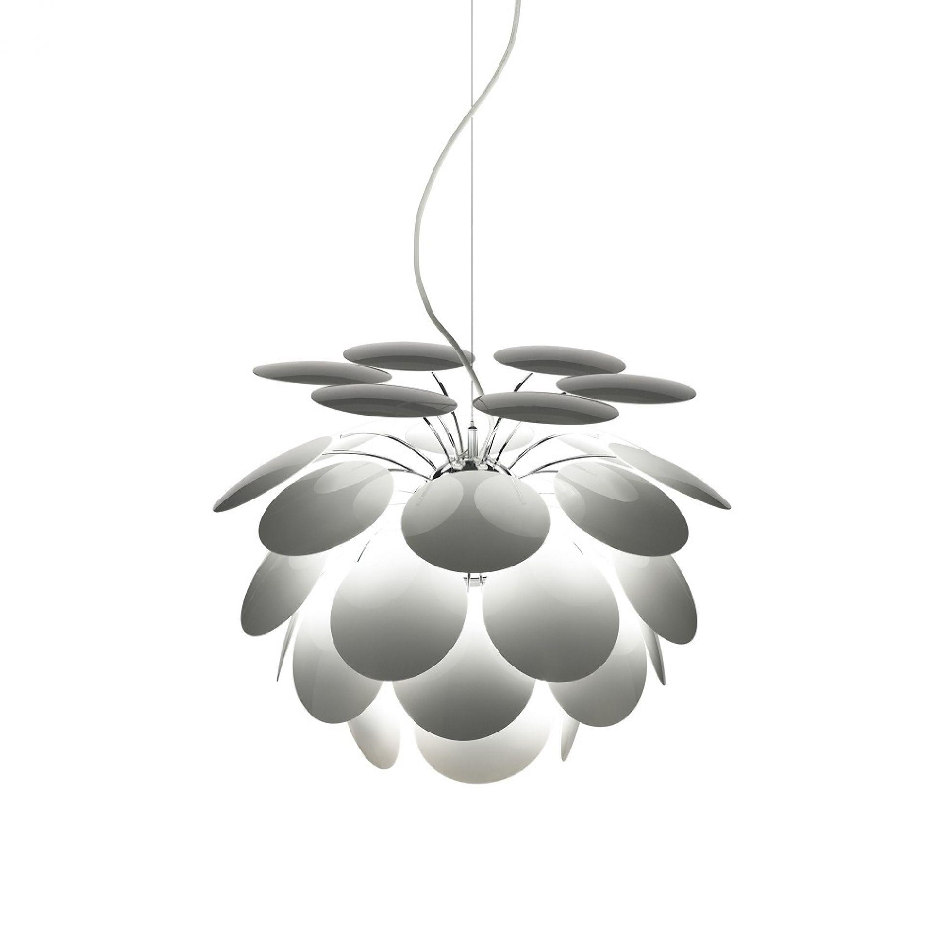 Discocó 88 LED Lampe suspension marset Blanc