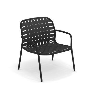 Yard  Lounge Chair Sessel 2-er Set emu schwarz-grauschwarz