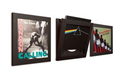 Art Vinyl cadre des disques set de 3 noir Klein & More
