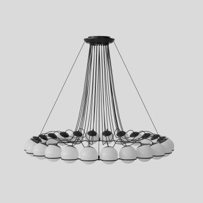 Model 2109/24/14 Lampe à pendentif Structure Noir Astep
