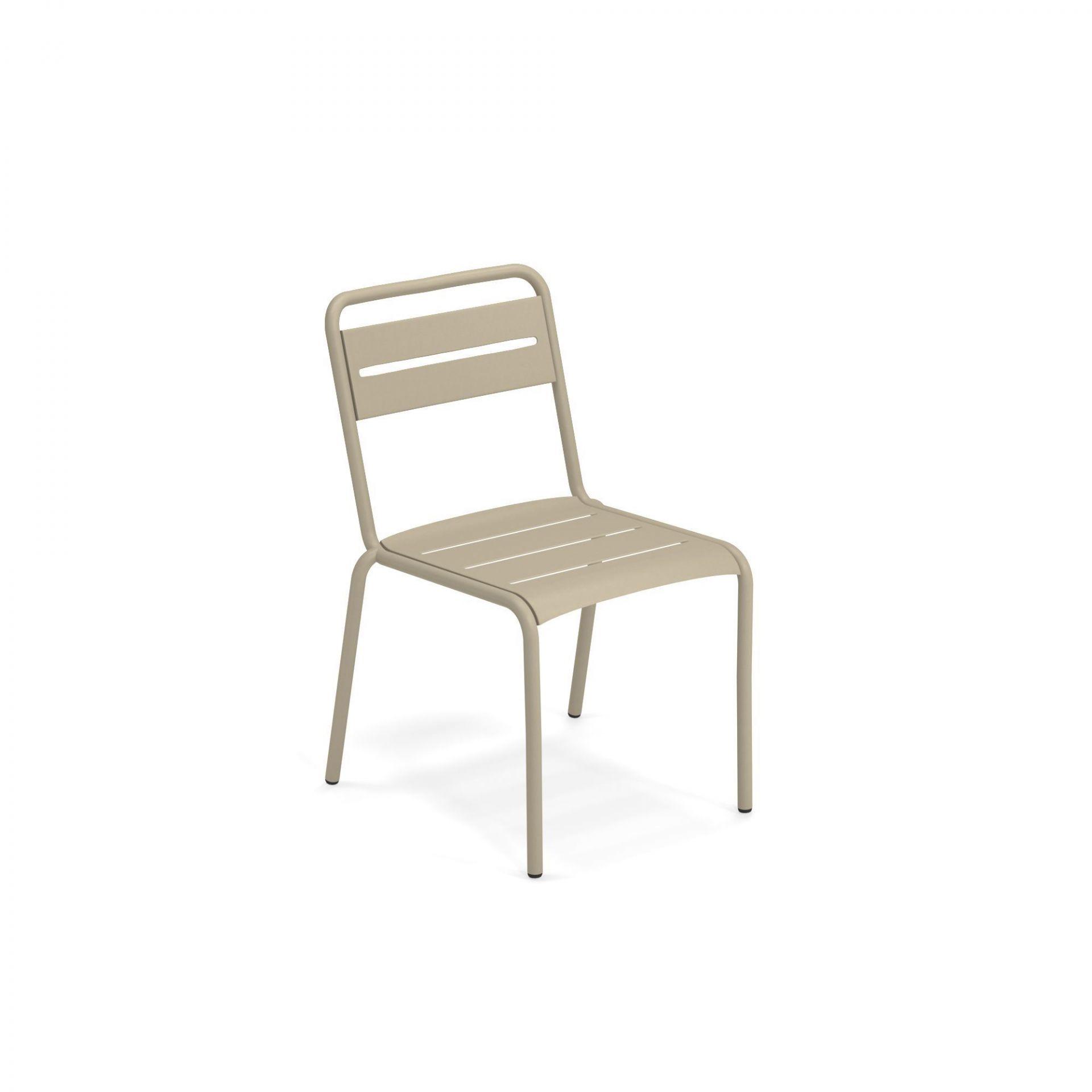 Étoile Chair Set de 4 Emu vert militaire