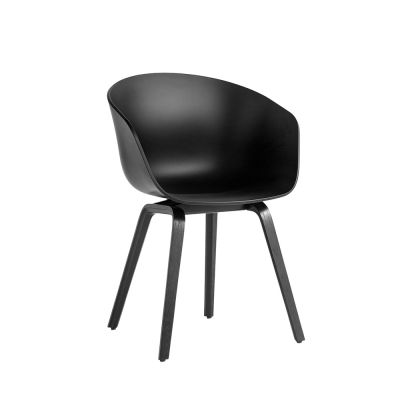About A Chair AAC22 / AAC 22 Noir Chaise Hay
