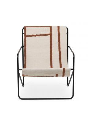 Desert Lounge chaise Noir Ferm Living