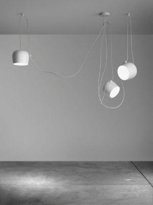Aim Small 3-er Set lampe de suspendue blanc Flos