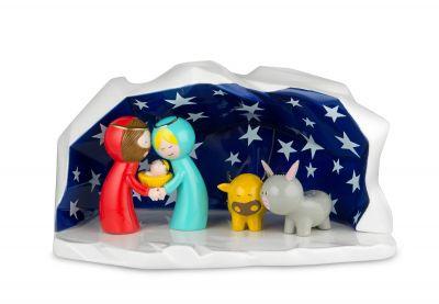 Happy Eternity Babycrèche de Noël Alessi