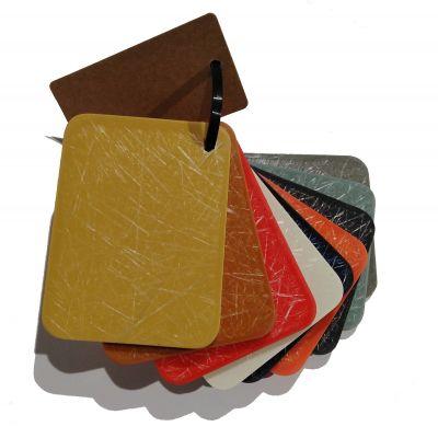 Échantillon en plastique pour les Eames Plastic chaises Fiberglas Vitra