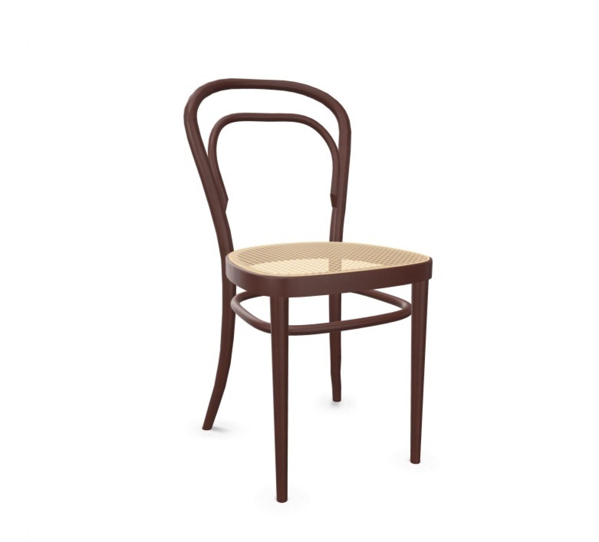 214 Chaise en bois courbé - Café chaise Mahagoni Thonet OFFRE SPECIALE